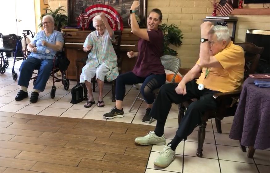 Seniors See the Benefits of Being Active on a Regular Basis